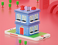 Little Building Animation