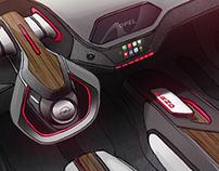 CAR INTERIOR DOODLE