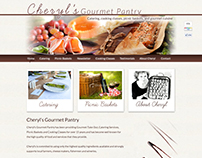 Website Design for Cheryl's Gourmet Pantry (2011)