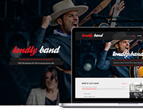 Londly Band Web Site