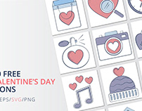 10 Free Valentine's Day Icon