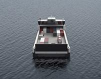 Air-cushion Catamaran