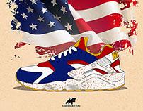 Nike Huarache Olympic