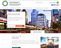 National Collaborating Centre for Env. Health Website