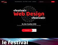 Création d'un site web événementiel