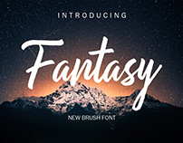 FREE | Fantasy Brush Font