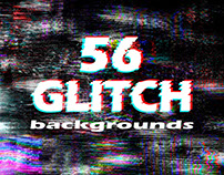 56 Glitch backgrounds