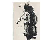 Jazz Sketchbook pages