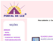 WebDesign Portal de Luz