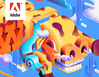 Adobe CC cover Illustrations 2016