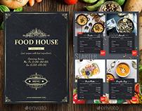 Food House Menu