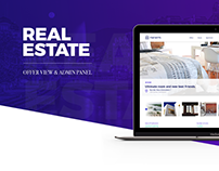 Real Estate - Offer View & Admin Panel