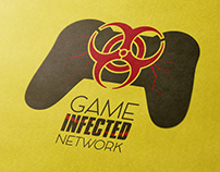 """Logo Design - """"GameInfected Network"""""""