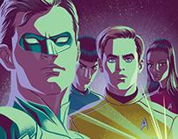Star Trek / Green Lantern Cover