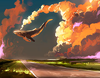 Cloud Machine - 30 min Speedpainting