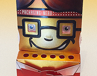 Invitation Card for the 3. Packaging Inspiration Forum
