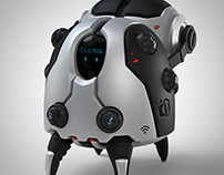 Cute Robot Assistant for home