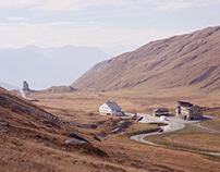Colle Belvedere e passo piccolo san Bernardo, ottobre