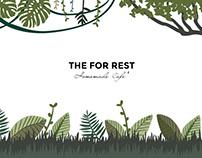The For Rest Homemade Cafe' Branding.