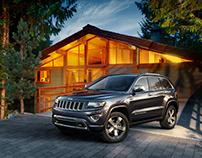 Jeep Grand Cherokee - CGI & Retouching