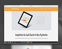Site Graph'py responsive- Bootstrap