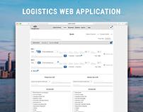 Logistics web application