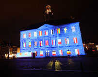 Maastricht City Hall Mapping.