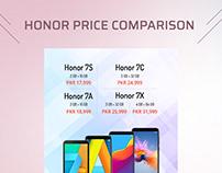 Honor 7 Series Price Comparison
