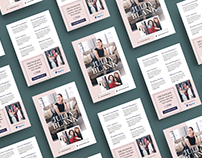 Elegant Fashion Stylist Email Pdf Brochure Design