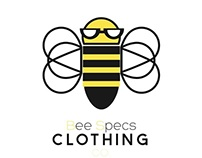 Bee Specs Co Logo (Color/B&W)