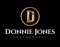 Donnie Jones Photography Logo, Branding & Website