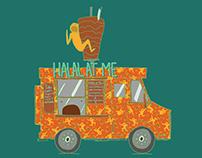 """Halal At Me"" Food Truck"