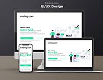 UI/UX Design - Landing Page