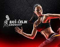 Bas Celik Crossfit - Branding & Website