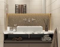 Bathrooms in the apartment