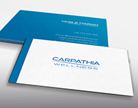 Business Cards for Carpathia Wellness