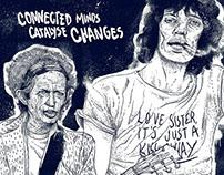 CONNECTED MINDS I Ilustração 2D