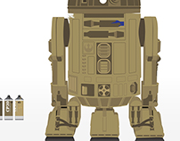 R2D2 real colors?