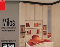 Rauch Furniture Overbed Unit at Furniture Direct UK