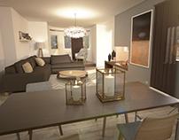 HOUSE INTERIOR - VRAY