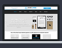 Responsive WordPress website for advertising agency