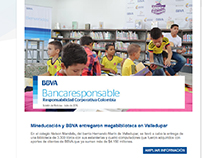 Newsletter para BBVA Colombia