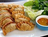 cách làm bánh gối ngon đặc biệt – Vietnamese Crispy Dum