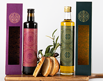 Olive Oil and Balsamic Vinegar Packaging