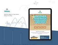 Newsletter Design for Travel Agency