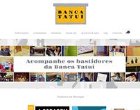 Web design - Banca Tatuí Store