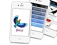 User Experience : Bird Recognition Application