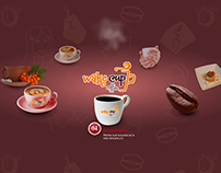 Wake Cup Coffee - Website