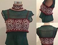 Machine Knit Sweater Top