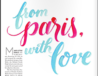 From Paris with Love • Fashion Editorial